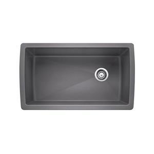 Blanco Diamond Single Undermount Sink - Grey