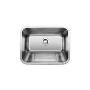 Practika Drop-In Laundry Sink, Chrome
