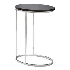 Monarch Accent Table - 18.5-in x 25-in - Composite - Cappuccino