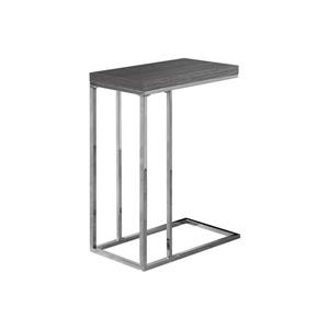 Monarch Accent Table - 25.25-in - Composite - Gray