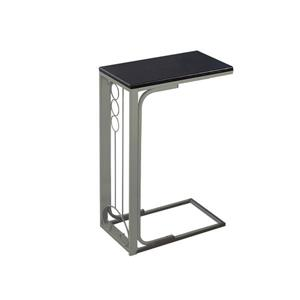 Monarch Accent Table - 16-in x 24.5-in - Composite - Cappuccino