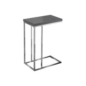 Monarch Accent Table - 25.25-in - Gray