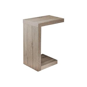 "Table d'appoint, 24"", composite, taupe"
