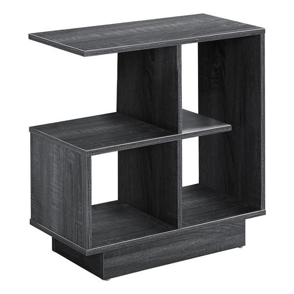 """Table d'appoint, 11,5"""", composite, gris"""