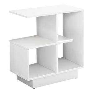 Monarch Accent Table - 11.5-in - White