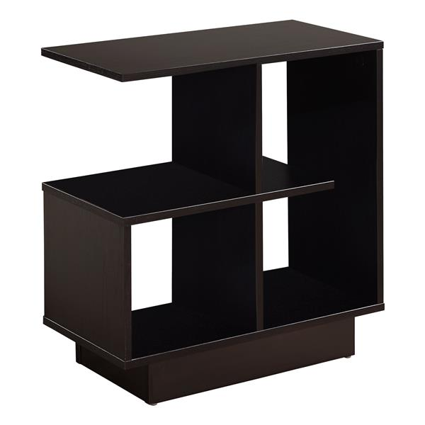 Monarch Accent Table - 24-in - Cappuccino