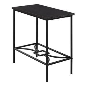 Monarch Accent Table - 11.75-in x 22-in - Composite - Cappuccino