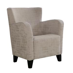 "Fauteuil d'appoint, 30"" x 35"", polyester, taupe"