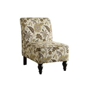 Monarch Accent Chair - 30.75-in x 33-in - Polyester - Beige