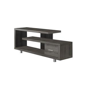 Monarch TV Stand - 60-in - Composite - Dark Taupe