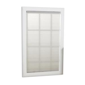 "allen + roth Light Filtering Shade - 63.5"" x 64"" - Polyester - Gray"