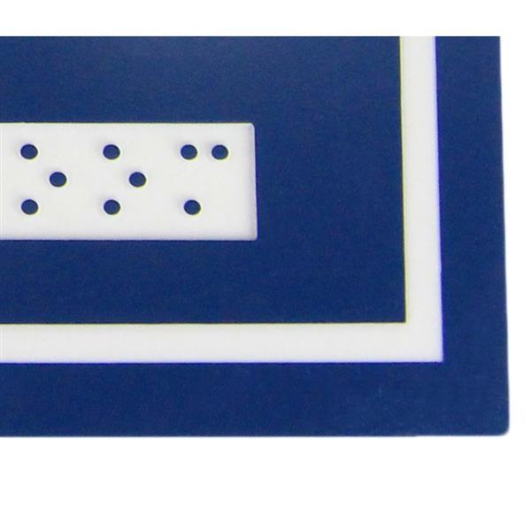 Signalisation standard de toilettes, femmes et handicapés