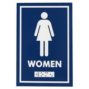 Frost Washroom Signage - Female