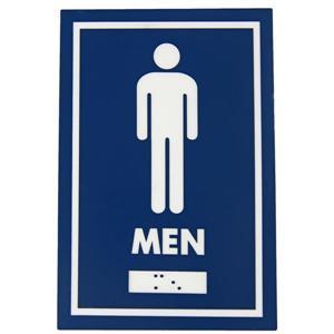 Signalisation standard de toilettes, hommes
