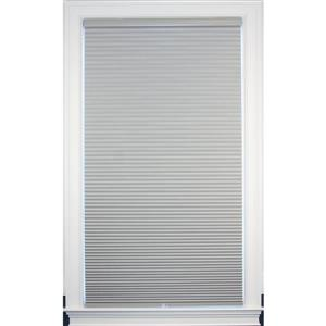 "allen + roth Blackout Cellular Shade - 24.5"" x 64"" - Polyester - Gray"