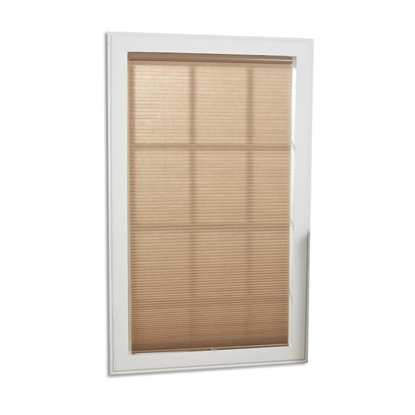 "allen + roth Light Filtering Cellular Shade - 64.5"" X 48""- Linen"