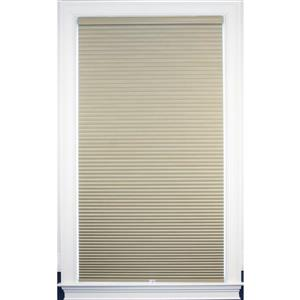 """allen + roth Blackout Cellular Shade - 34"""" x 48"""" - Polyester - Sand-White"""