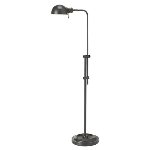 Dainolite Pharmacy Floor Lamp - 1-Light - Oil Brushed Bronze
