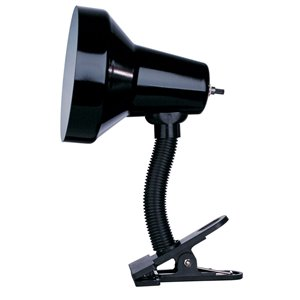 Dainolite Signature Desk Lamp - 10-in - Black