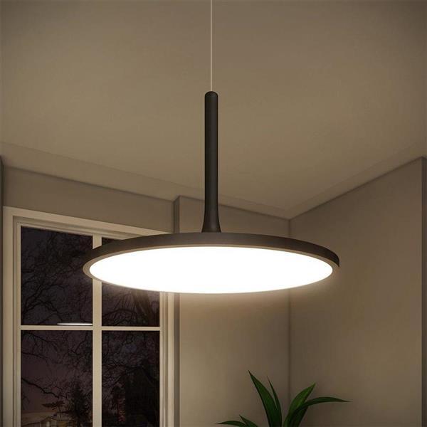 Vonn Lighting Salm LED Pendant Light - 24-in - Black