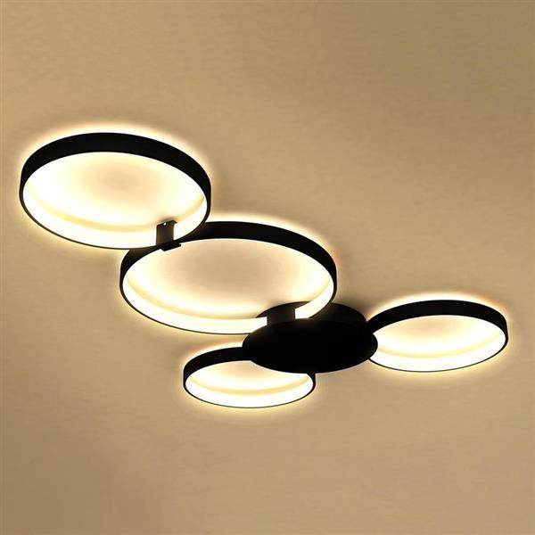Vonn Lighting Capella LED Flush Mount Light - Silver - 42.51-in