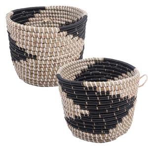 Notre Dame Design Delphine Decorative Baskets,  2 PK