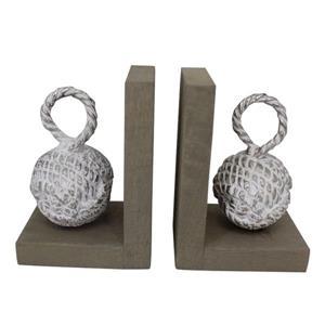 Notre Dame Design Clift Decorative Bookends - 2-pk
