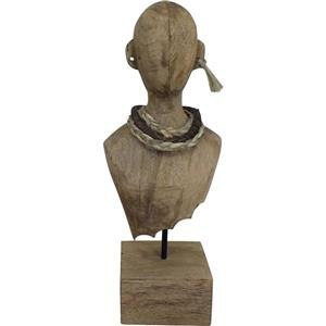 Destra Decorative Sculpture - Natural