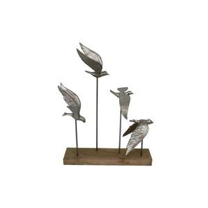 Alton Decorative Sculpture - Silver