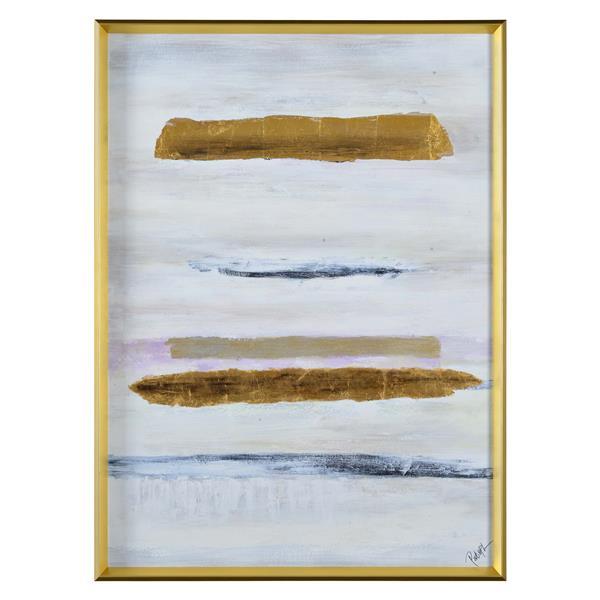 """Notre Dame Design Missa Framed Canvas - 48"""" x 36"""""""
