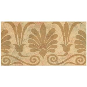 Norwall Trellis Distressed Wallpaper - Brown/Orange