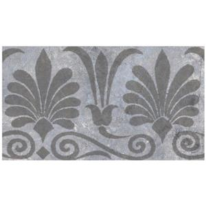 Norwall Trellis Distressed Wallpaper - Pewter/Grey