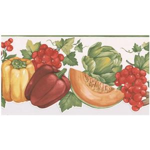 Norwall Prepasted Vegetable Wallpaper