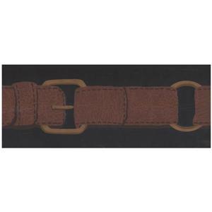 York Wallcoverings Prepasted Belt Wallpaper - Brown/Black
