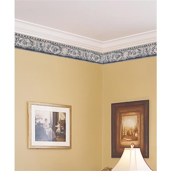 Norwall Prepasted Abstract Victorian Wallpaper Border