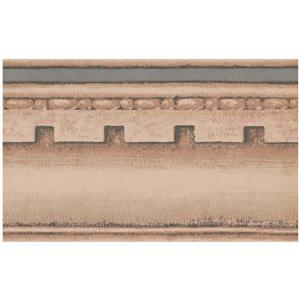 York Wallcoverings Prepasted Victorian Wallpaper Border - Beige