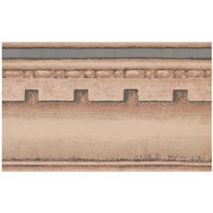 York Wallcoverings Prepasted Victorian Wallpaper Border - Beige