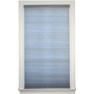 "allen + roth Double Cell Shade - 61"" x 72"" - Polyester - Gray"