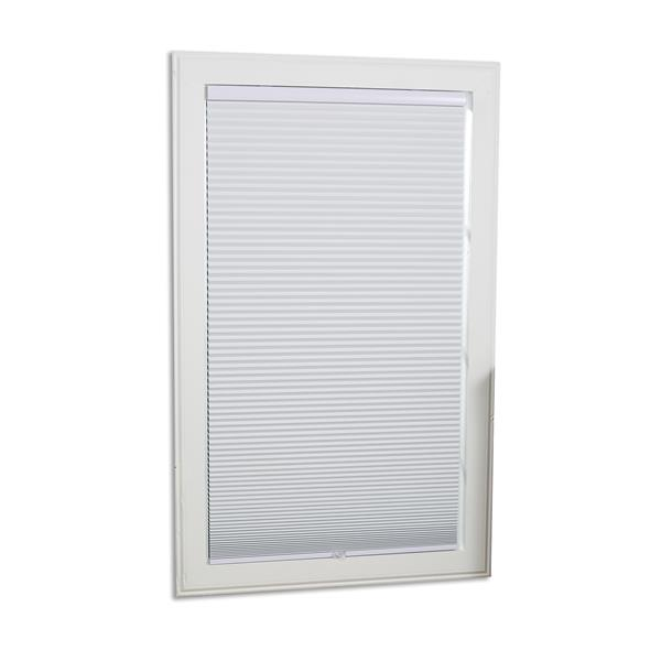 "allen + roth Blackout Cellular Shade - 57.5"" x 64"" - Polyester - White"