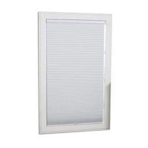 "allen + roth Blackout Cellular Shade - 55.5"" x 64"" - Polyester - White"