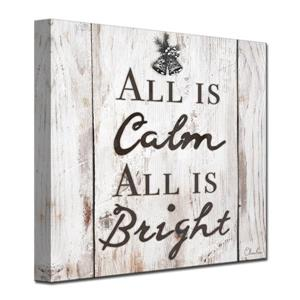 Christmas Silent Night Canvas Wall Art - 30