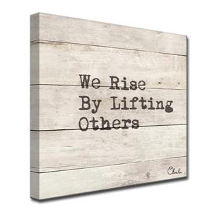 Rise Inspirational Canvas Wall Décor - 30