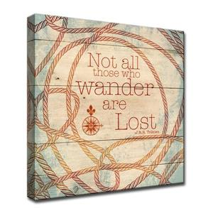 Wander Inspirational Canvas Wall Décor - 30