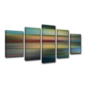 Blur Stripes Wall Décor Set - 60