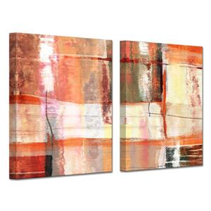 Abstract Spa Canvas Wall Décor Set - 60