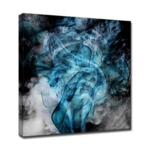 Glitzy Mist Canvas Wall Décor - 30