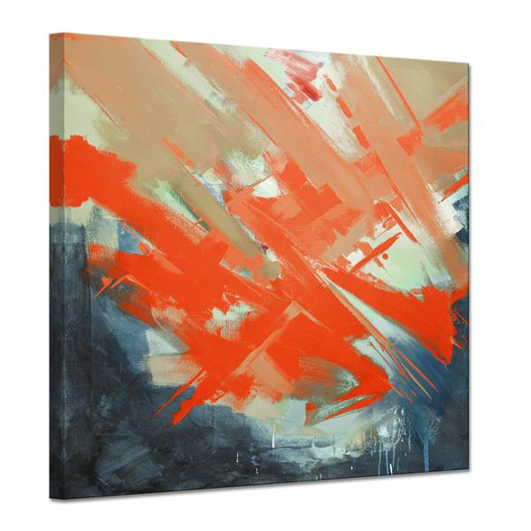 "Smash Canvas Wall Décor - 30"" - Red"