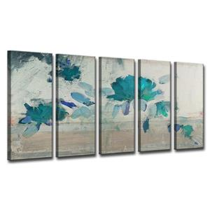 Painted Petals Canvas Wall Décor Set - 60