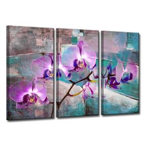 Painted Petals XIX Wall Décor Set - 60
