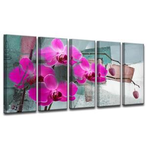 Painted Petals XIII Wall Décor Set - 60
